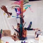 Vogelboom door meerdere kinderen