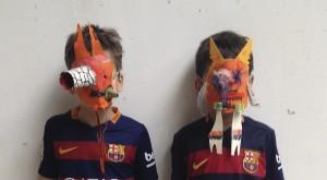 twee monsters in de knutselclub